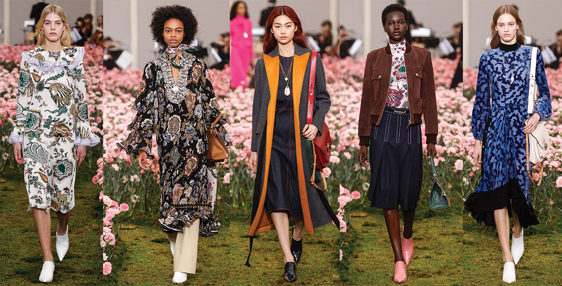 Image result for tory burch  Fall/Winter 2018